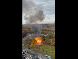 🔥В Бутово взорвалась газовая подстанция. Причины п...