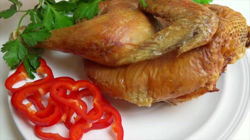 Курица на соли Курица в духовке супер простой рецепт! Вкуснейшая курочка!