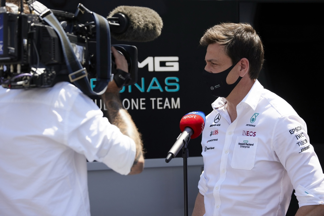 Toto Wolff for Sky