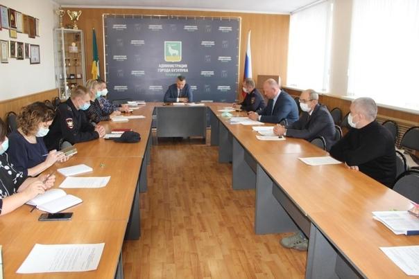 В администрации города прошло очередное заседание ...