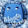 Наклейки на виниле | Monster Stickers